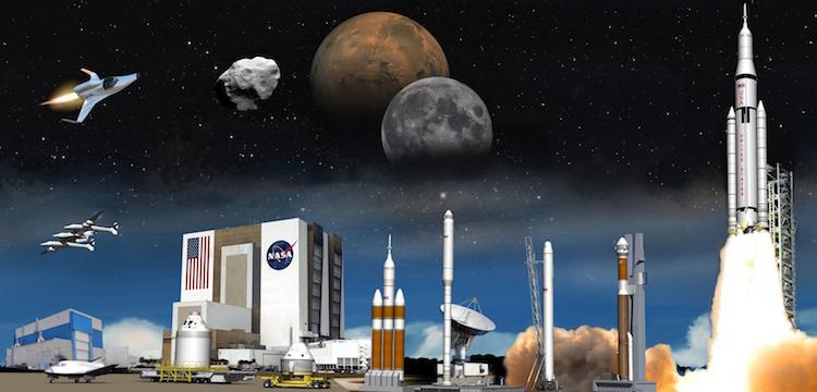 NASA กับ SpaceX